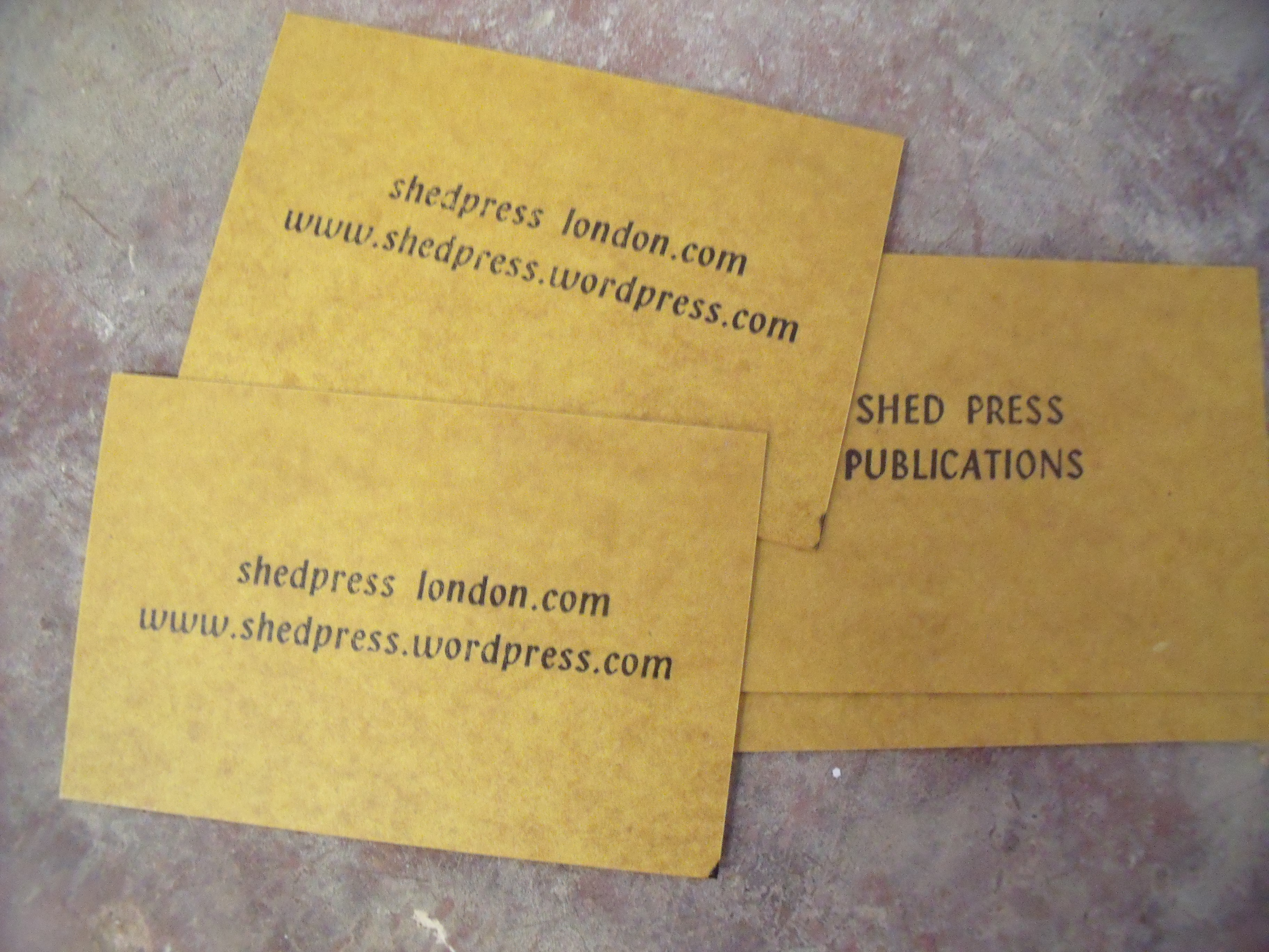 About Shed / Contact us | Shed Press Publications